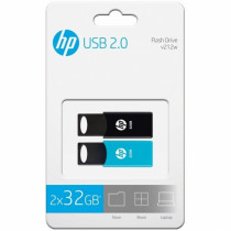 PEN DRIVE HP 32GB USB 2.0 PACK 2 UDS.