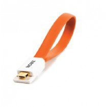 Cable ZIRON usba a micro usb 0.2 color naranja