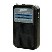 Radio portátil DAEWOO DRP-8B AM/FM color negro