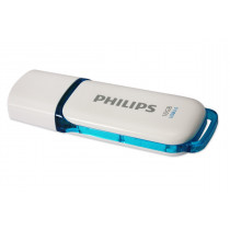 Pendrive PHILIPS 3.0 SNOW 16GB color blanco y azul