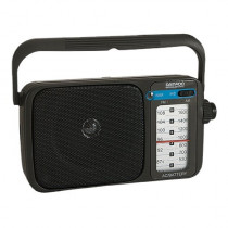 Radio Portátil DAEWOO DRP123, am/fm , de color negro