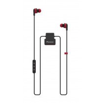 Auricular Bluetooth botón PIONEER SE-CL5BT-R bluetooth color rojo