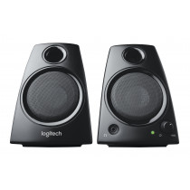 Altavoz multimedia LOGITECH Z130 2.0, integrado, de dos vías, color negro