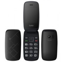 "Telefono movil QUBO NEO X216B, 2.4"" color negro, camara"